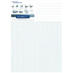 50 sheet notepad A4